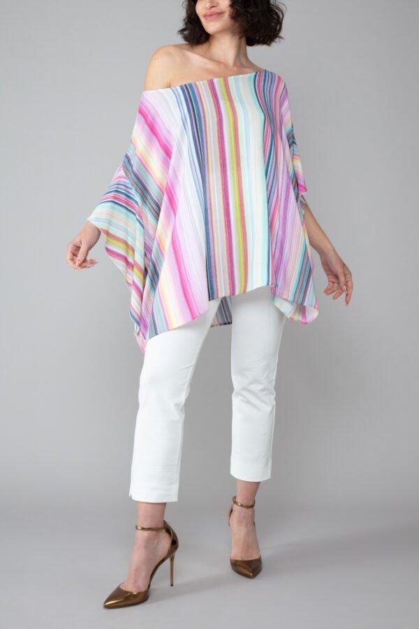 panta bb bianco militare con baschina comodo elegante moda made in italy