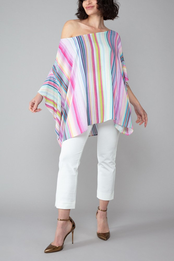 top capri donna arcobaleno roderì abbigliamento inclusivo made in italy